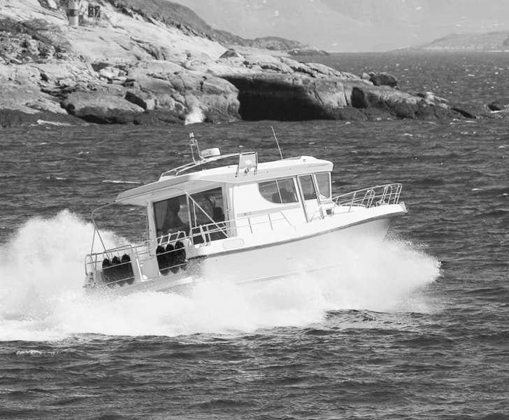 Моторные яхты и катера.