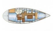 Bavaria 37 1996 круизная парусная яхта