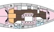 Jeanneau Sun Odyssey 42.2 круизная парусная яхта