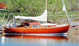 Шведская ретро яхта