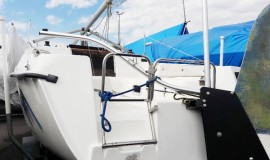 Hunter 23 парусная яхта швертбот