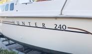 Hunter 240 парусная яхта швертбот