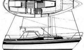 LM 26 1982 мотосейлер
