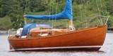 Olsson 28 ретро парусная яхта